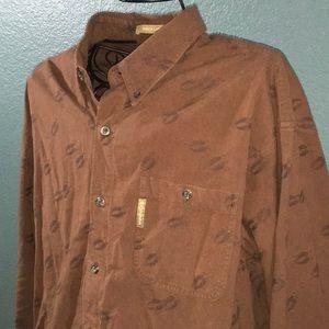 Men's Columbia Casual Long Sleeve Button Up Shirt